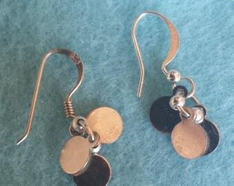 Disc Dangler Earrings