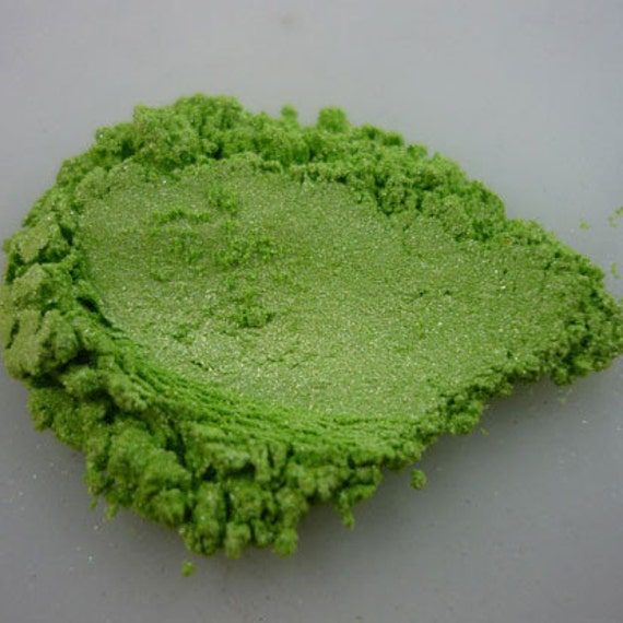 Fresh Green Pearlescent Pigments