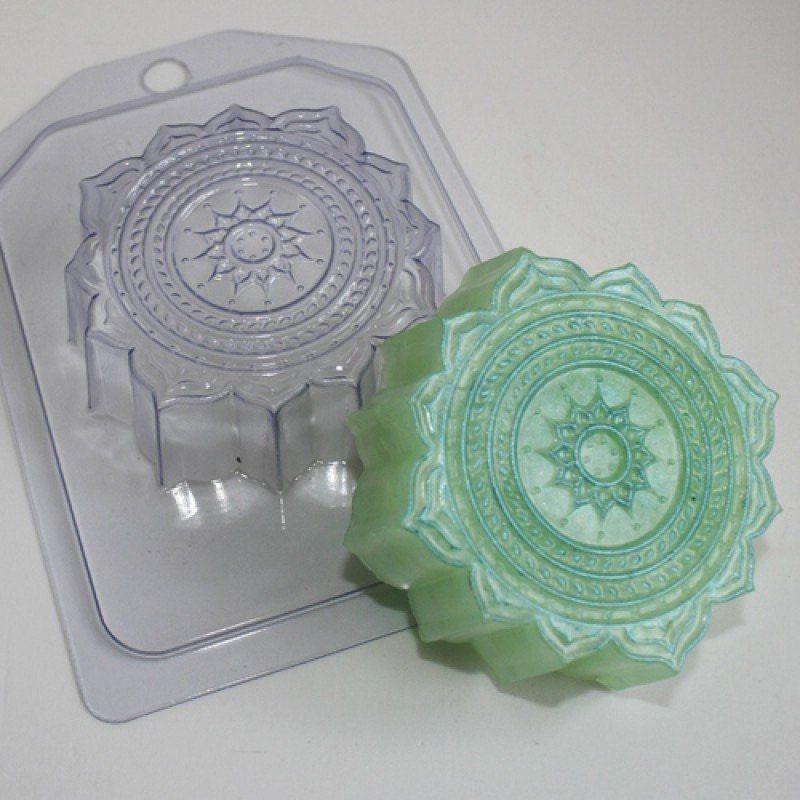 Oriental Pattern Plastic Soap Mold Soap Making Soap Mould