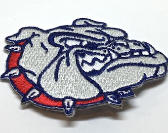 Gonzaga Bulldogs embroidered Iron on Patch