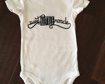 Baby Onesie- Sweet Little Miracle
