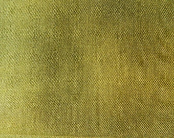 Olive green Moda solid fabric
