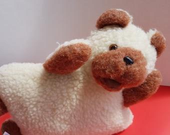 toy pillow | bear pillow | wool pillow | handmade pillow