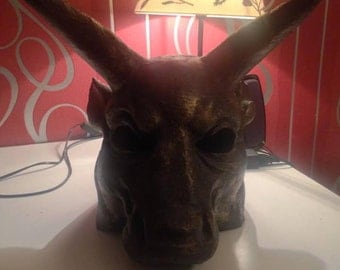 Wearable or decoratiff Zodiac Head
