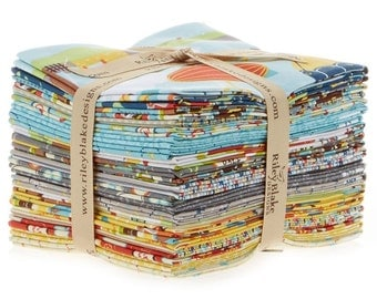Little Flyers designed by Kellie Panacci for Riley Blake Designs - Fat Quarter Bundle