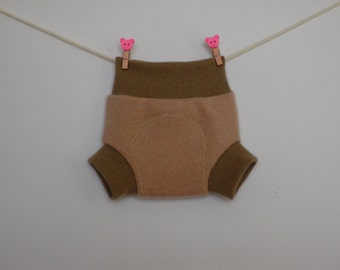 Cashmere soakers, diaper covers, diapers for newborns