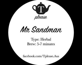 Mr Sandman loose leaf tea