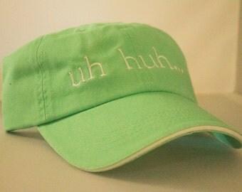 uh huh... Mint Green Baseball Cap