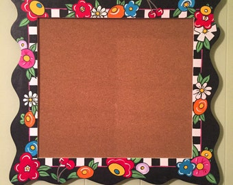 Hand Painted Bulletin Board