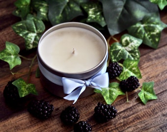 Boo's Haunted Mansion, Natural soy candle, Natural soy tin candle, Scented soy candle, Hand poured soy candle, Soy candle