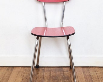 "Red formica chair ""bangkok"""