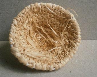 Make your own coiled raffia basket kit