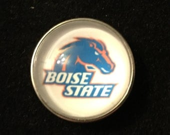 College Snaps - Boise State - Fits all 18mm & 20mm Snap Jewelry