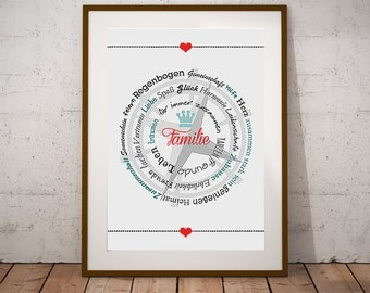 Families compass gift family