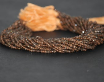 Endosolite Garnet Faceted Beads