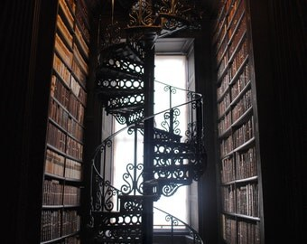 Stairwell Through Books