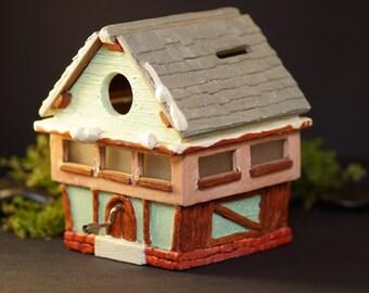 casetta salvadanaio con carillon happy birthday sweet home money box