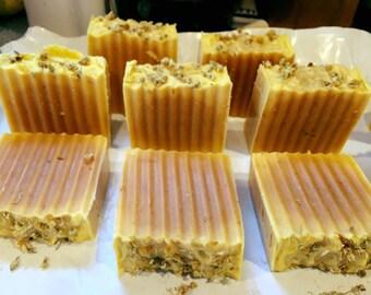 Carrot, Calenula & Chamomile Soap
