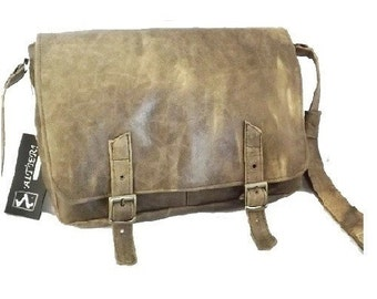 Handmade Leather Bag prad-safari