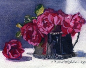 Roses in Silver