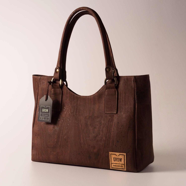 Cork Handbags: Beautiful Tote Handbag From Natural Cork FREE By