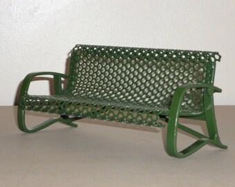 miniature park bench