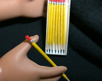 """Pencil set made for 18""""  (AG) Dolls"""