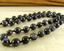 Mens jewelry mans necklace gemstone jewelry for men bead necklace healing necklaces energy healing gift for boyfriend gift idea mens choker
