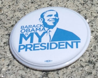 President Barack Obama Button!