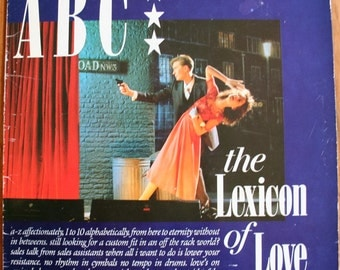 ABC - The Lexicon of Love - 1st UK Pressing