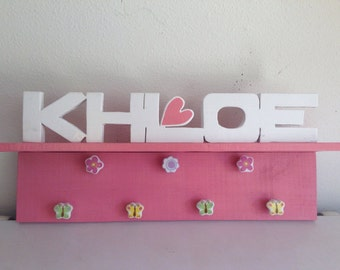 Customized Name Shelf