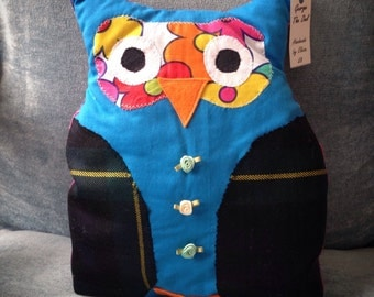 George the Owl cushion