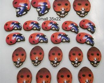 22 X Ladybirds Mixed