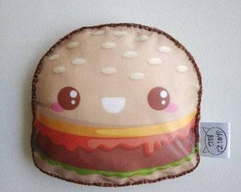 Hamburger Catnip Toy, Hamburger Cat Toy