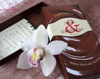 "Theme ""Gluttony"" - christening, birthday, wedding guest book"