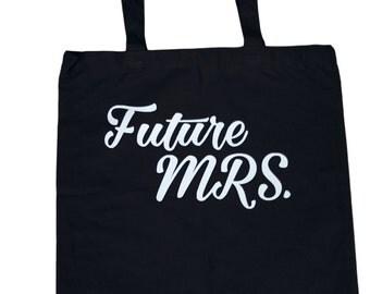 Future Mrs. Canvas Tote