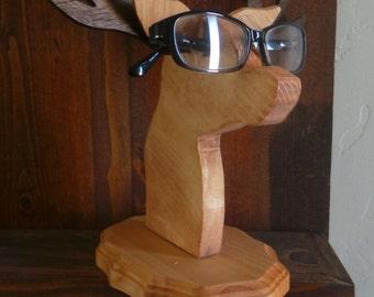 Deer Sun or Eye glass Holder