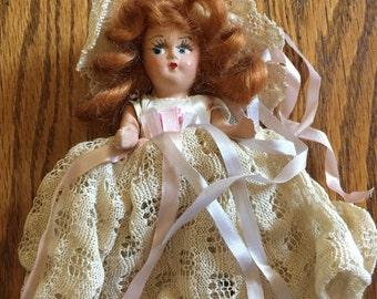 Old Doll in Wedding Dress