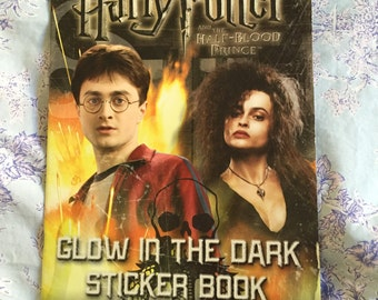 Harry Potter and the Half Blood Prince Glow in the Dark Sticker Book