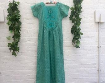 Green Goddess Maxi Dress