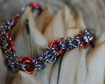 Butterfly Chainmail bracelet