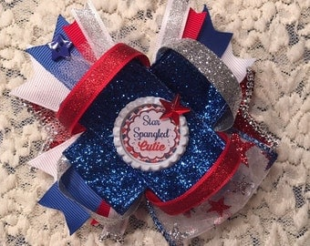 Fourth of July bow!