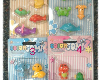 Colourgomiz erasers