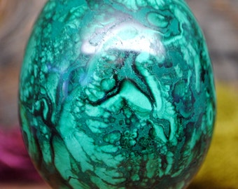 Malachite Crystal Egg -  1179.61