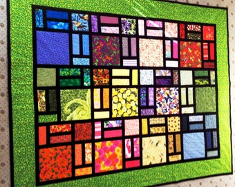 Quilt Pattern - Stained Glass by Sew4Fun