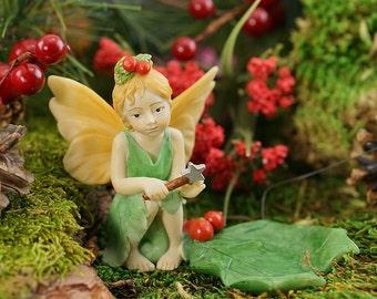 Miniature Garden and Terrarium Fairy Tea Light Candle Figurine Garden Accessory