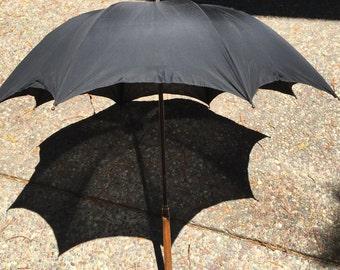 Victorian Umbrella 1889 engraved beautiful original condition