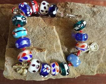 Roundelle bracelet for chicks