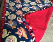 Snow White Tie blanket