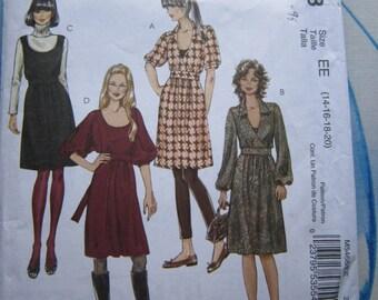 McCalls 5468 Dress Sewing Pattern 14-20